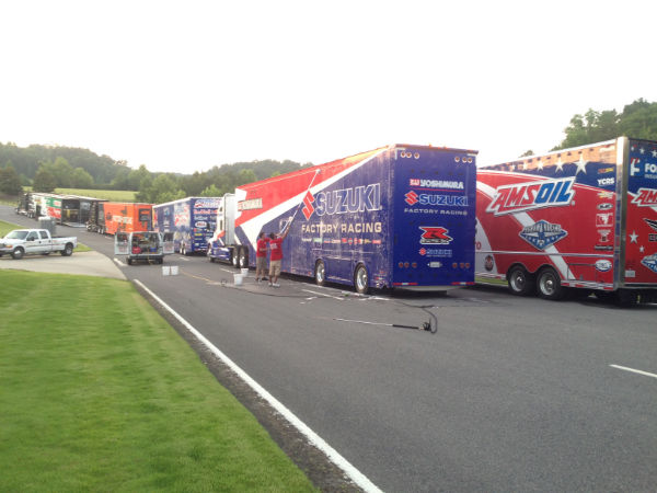 We washed every truck  @ 2014 AMA Barber.JPG